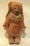 197-1-ABC - Jamacoaque Standing Female Figure
