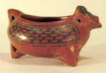 3702 - Chupicuaro Bat Head Bowl