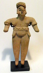 6581 - Colima Standing Anthropomorphic Figure