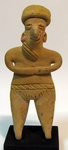 6739 - Colima Standing Anthropomorphic Figure
